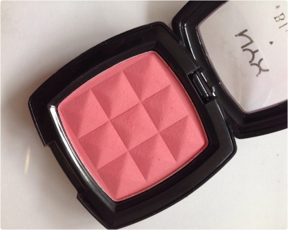 Powder blush peach NYX